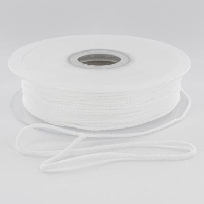 Cordon élastique super doux 2.5mm - Blanc
