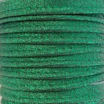 Passepoil lamé 10mm - Vert