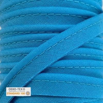 Passepoil polycoton 10mm - Bleu turquoise
