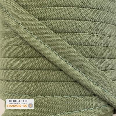 Passepoil polycoton 10mm - Kaki