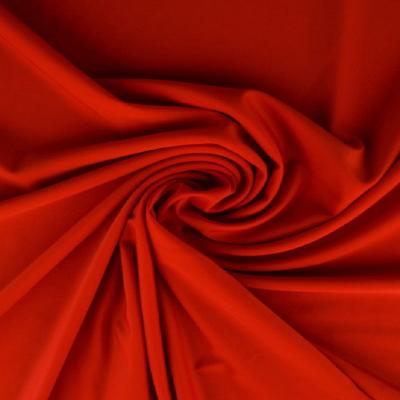 Tissu Lycra uni - Rouge