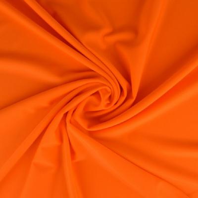 Tissu Lycra uni - Orange