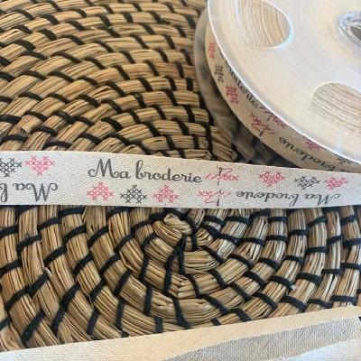 Biais Fantaisie Lin/coton - Ma Broderie