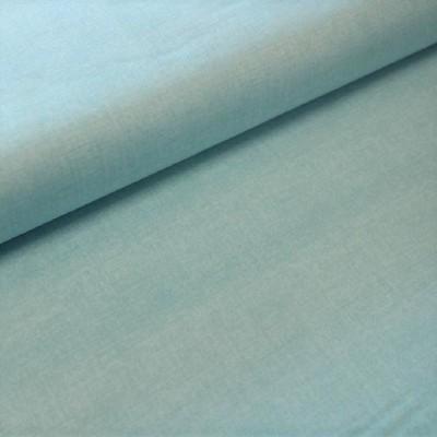 Tissu Coton aspect lin - Bleu sapphire - MAKOWER UK