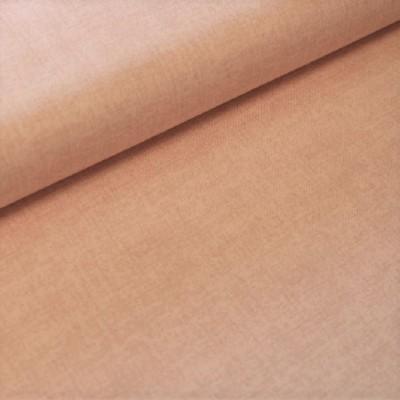 Tissu Coton aspect lin - Rose pâle - MAKOWER UK