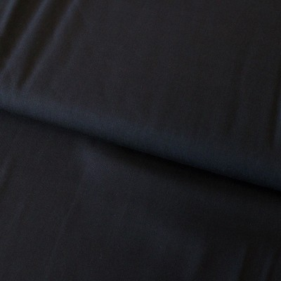 Tissu Viscose unie - Noir