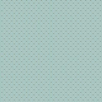 Tissu Coton imprimé -  BLUEBIRD His shirt Ice Blue - MAKOWER UK