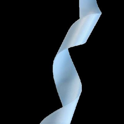 Ruban Satin 25mm - Bleu ciel