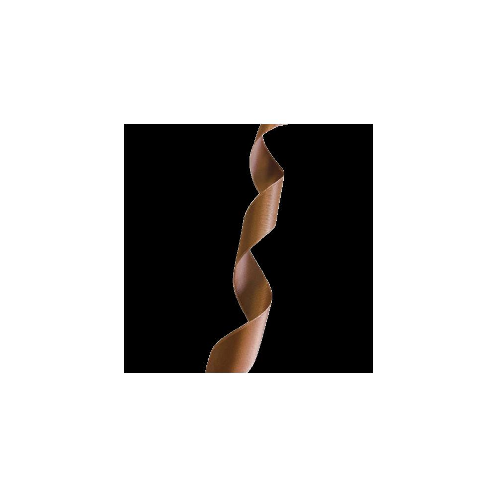 Ruban Satin 25mm - Marron