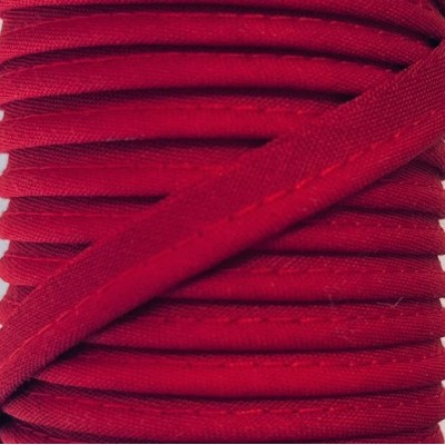 Passepoil polycoton 10mm - Rouge intense