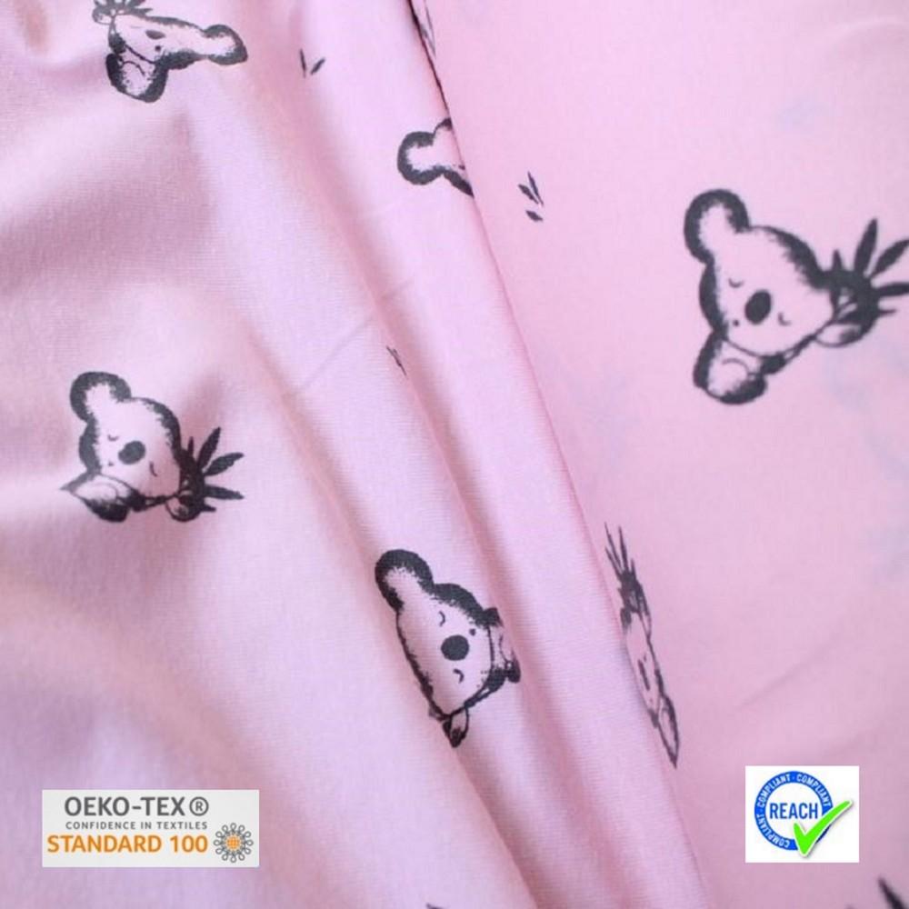 Tissu jersey LUAN - Rose