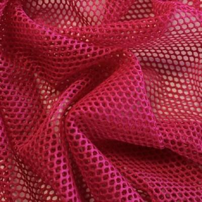 Tissu filet / MESH - Framboise