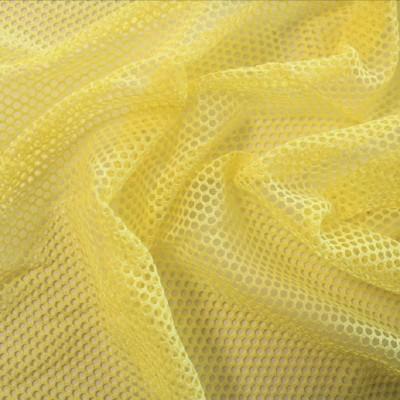 Tissu filet / MESH - Jaune pâle