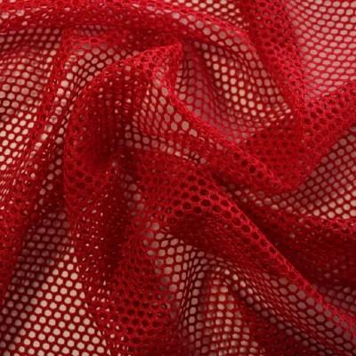 Tissu filet / MESH - Rouge